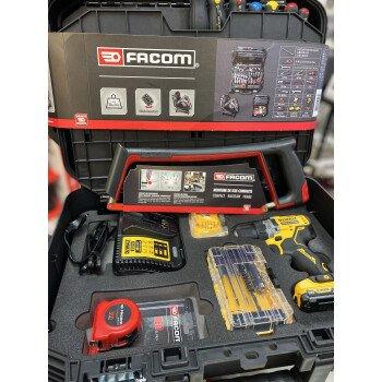 Valise de maintenance à roulettes Facom DEWALT (68 outils)  PROMO