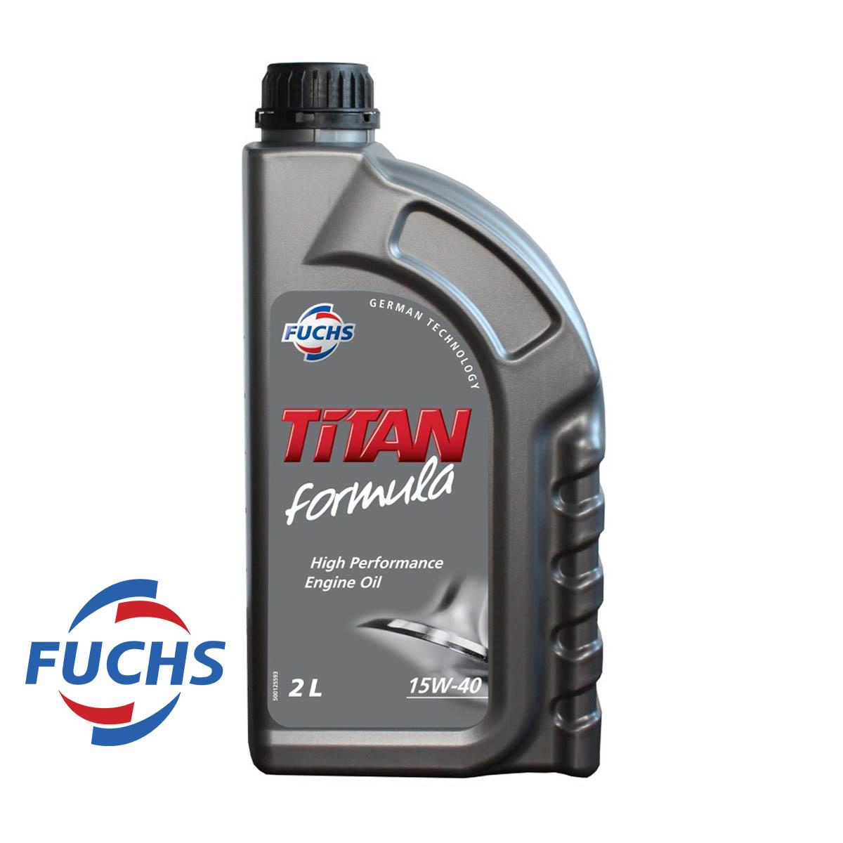 HUILE MOTEUR TITAN FORMULA 15W40 - 2L